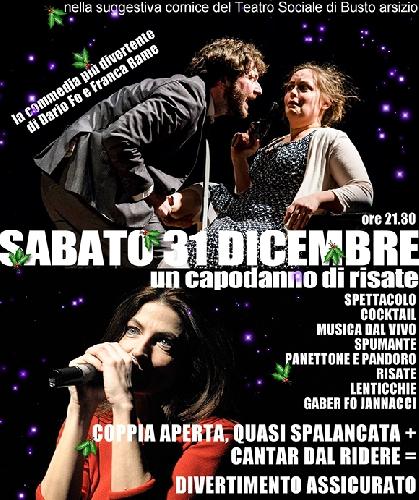 Capodanno 2017 Teatro Sociale Busto Arsizio Foto
